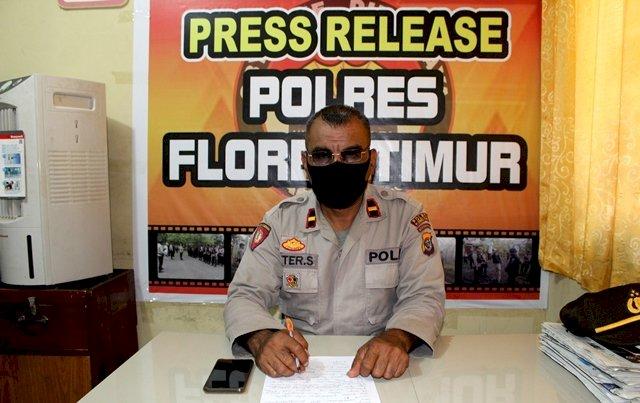 Press Release Kegiatan Penanggulangan Covid-19 Oleh Kasubag Humas Polres Flotim