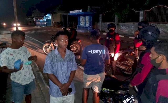 Pana Elang Polres Flotim, Patroli Amankan Situasi Kota Cegah Gangguan Kamtibmas