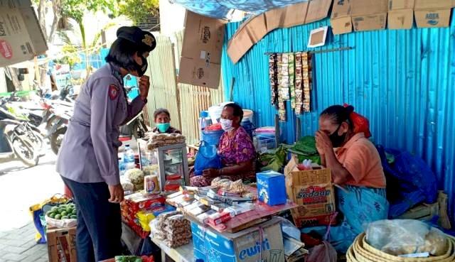 Operasi Aman Nusa II Tahap V, Tingkatkan Kesadaran Masyarakat Flotim Patuhi Protokol Kesehatan
