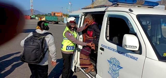 Woman Care Day, Polres Flotim Berikan Pelayanan Khusus Bagi Kaum Perempuan