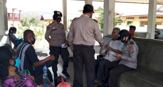 Operasi Aman Nusa II, Satgas Lakukan Patroli Imbau Pentingnya Protokol Kesehatan