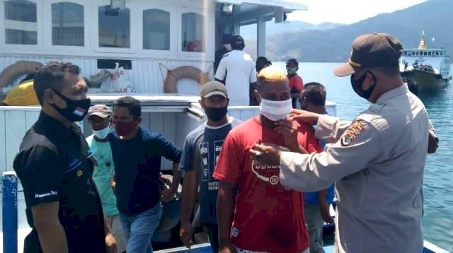 Ops Aman Nusa II, Satgas Ajak Warga Flotim Cegah Covid-19