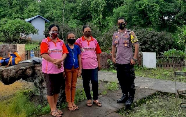 Sambang Desa Binaan, Bhabinkamtibmas Bripka Gusti Lanang Sambangi Warganya