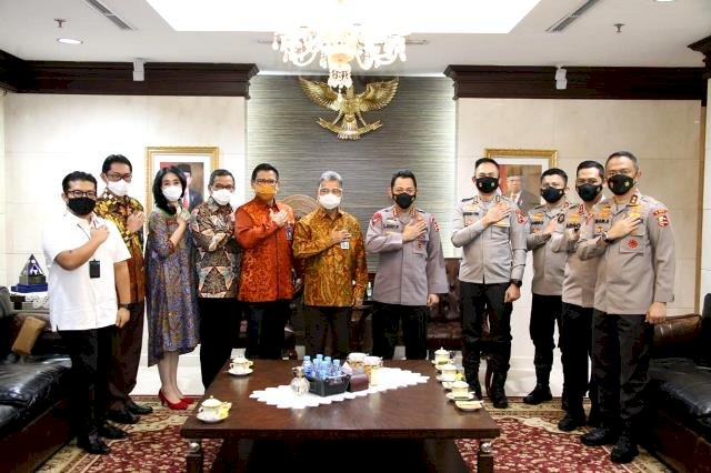 Silahturahmi Dengan BRI, Kapolri Dorong Inovasi UMKM di Tengah Pandemi Covid-19