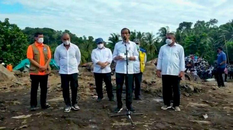 Selain Lembata, Presiden Joko Widodo Tinjau Lokasi Bencana di Adonara