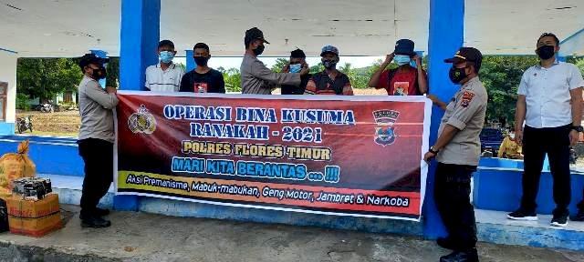 Polres Flotim Gelar Operasi Bina Kusuma Ranakah 2021
