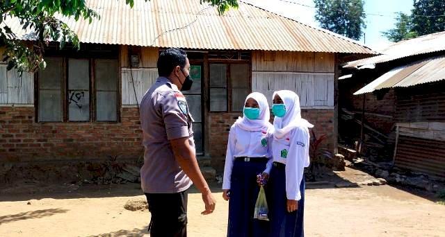 Berikan Rasa Aman, Bhabinkamtibmas Desa Pledo Laksanakan Sambang dan Binluh ke Sekolah