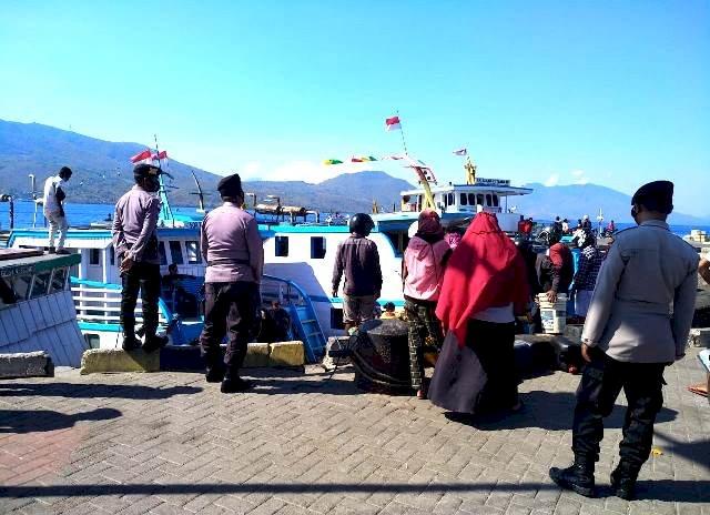 Cegah Gangguan Kamtibmas, Sat Sabhara Rutin Gelar Patroli Ditempat Rawan