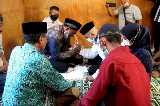 Polres Flotim Fasilitasi Tahanan Laksanakan Akad Nikah
