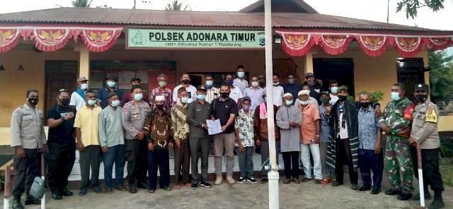 Konflik Antara Masyarakat Desa Saosina dan Masyarakat Wotan Sepakat Untuk Berdamai