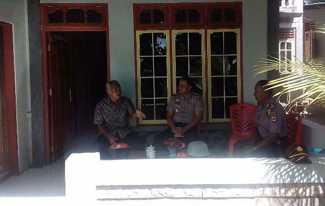Pererat Silaturahmi, Kapolres Flotim Giat Postoh ke Tokoh Masyarakat dan Tokoh Agama
