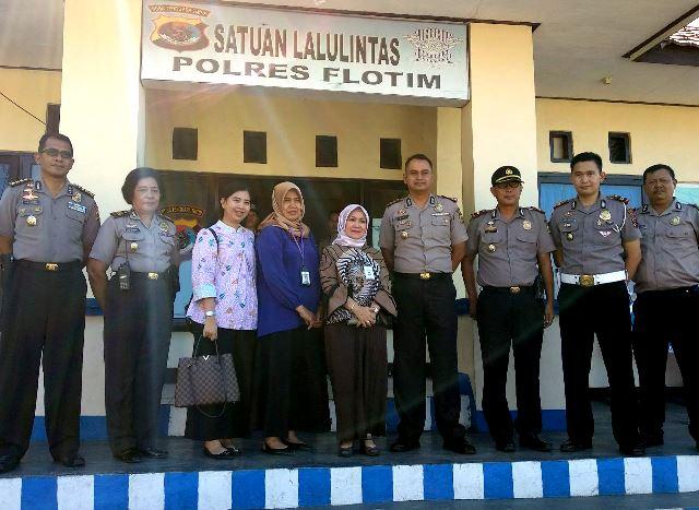 Deputi Bidang Pelayanan Publik Kemenpan RI Mengunjungi Polres Flotim Untuk Meninjau Langsung Ruang Pelayanan Publik