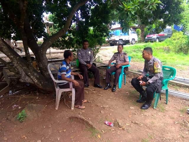 Giat KKYD, Satuan Binmas Tingkatkan Sambang Tokoh Masyarakat di Desa - desa.