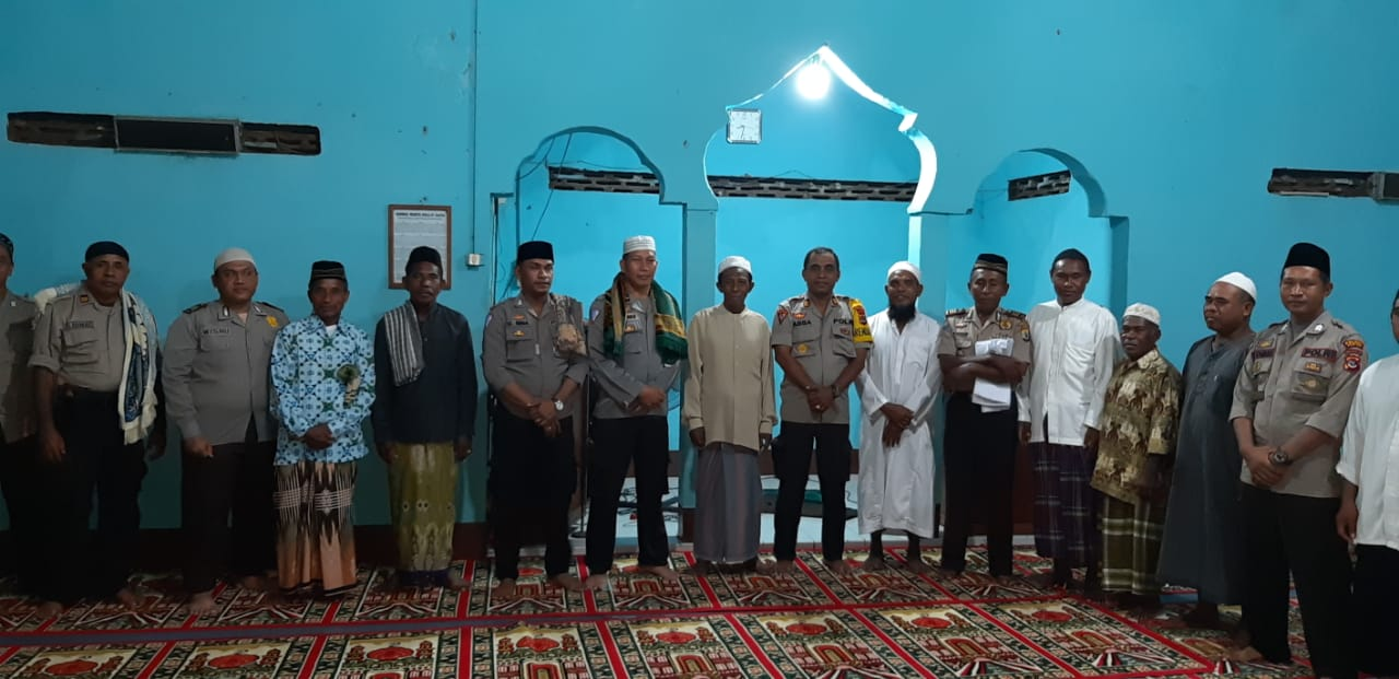 Polres Flotim Laksanakan Giat Safari Ramadhan Bersama Warga Delang