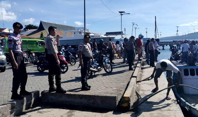 Pastikan Situasi Aman, Sat Samapta Patroli di Seputaran Kota