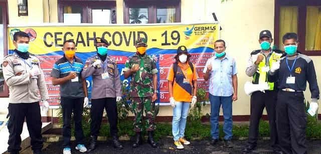 Waspadai Penyebaran Virus Corona, Polsek Wulanggitang Bersama Instansi Terkait Lakukan Pengawasan di Perbatasan Antar Kabupaten (Boru)